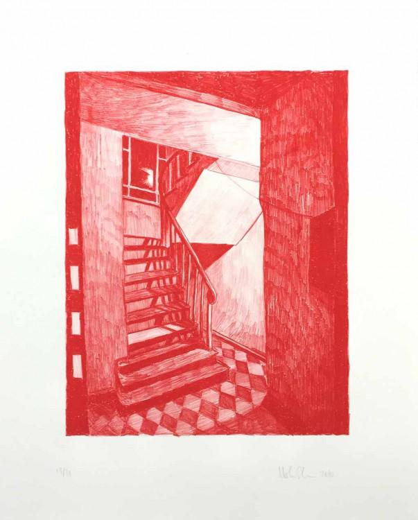mortenSchelde-untitled_stairs-red
